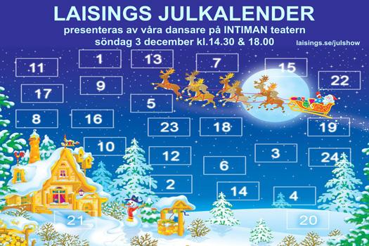 Julshowsaffisch2017